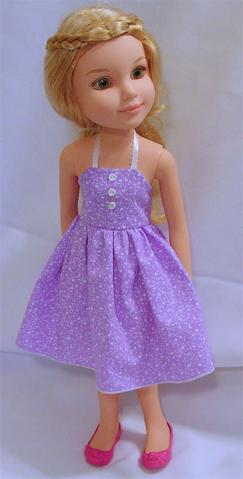 Babydoll Jumbo Nrv260516 003 doll summer or prom dress pattern to fit bfc ink large doll