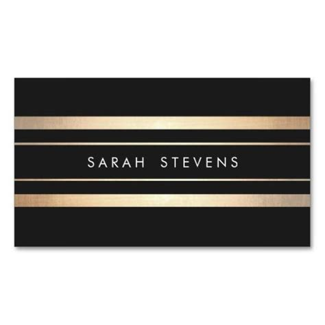 Gold Business Card Template by Best 25 Gold Business Card Ideas On Personal