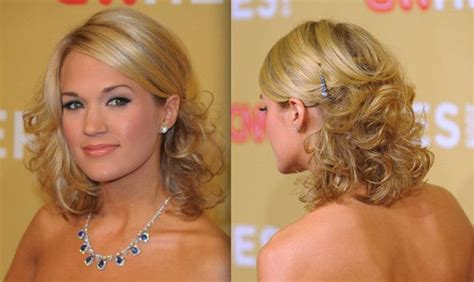 hairstyles for hair down to shoulders prom hairstyles for medium hair half up half down with