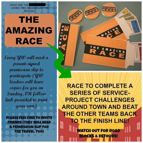 amazing race challenge ideas for youth the jolly rogers amazing service race