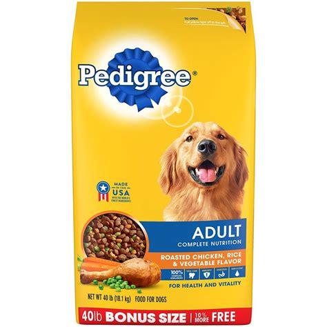 pedigree dry dog food complete nutrition adult dry dog food