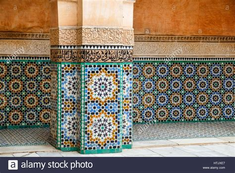 fliese marrakesch tiles marrakech stockfotos tiles marrakech bilder alamy