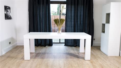 white oak table modern white oak dining table 6 8 seater uk delivery