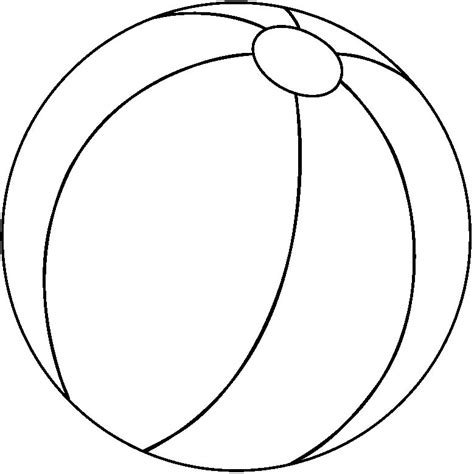 Balls Outline by Outline Clipart Best