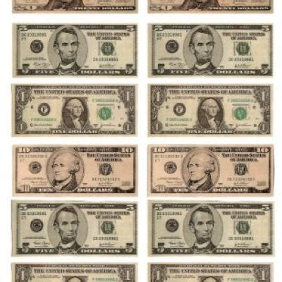 How To Make Paper Money That Looks Real - 7 best images of printable money that looks real