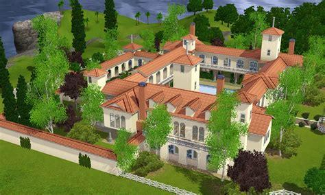 buy new house sims 3 sims 3 spanish villa by ramborocky on deviantart