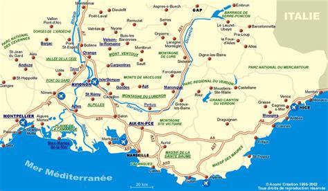 provence map au printemps provence part 1 uzes magnifique marche