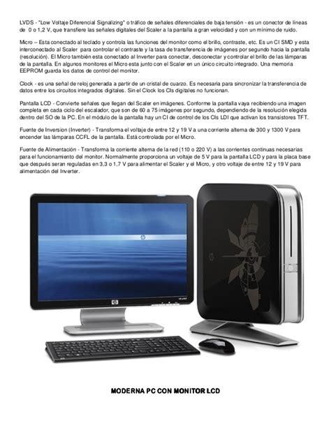 Monitor Lcd Ion curso rapido reparacion monitores lcd