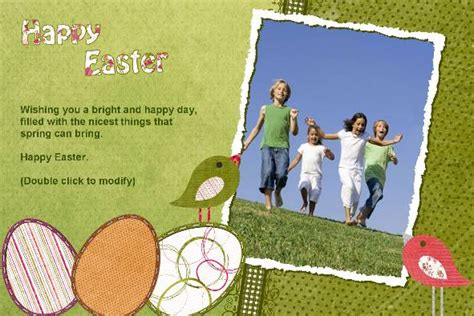 free easter card templates photoshop free photo templates easter card 4
