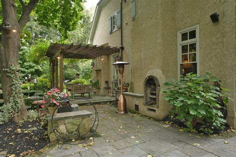 french tudor style home traditional exterior newark french tudor style home traditional patio newark