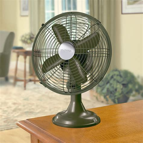 holmes metal desk fan holmes 9in green metal table fan shop your way online