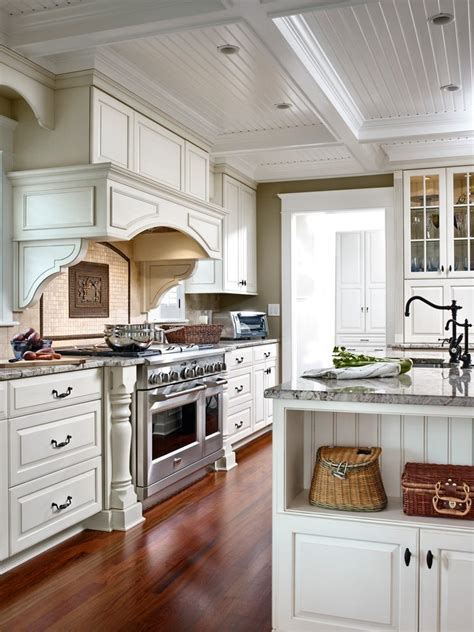 floor to ceiling wood kitchen cabinets traditional beadboard ceiling in kitchen kitchen traditional with dark