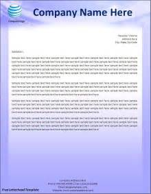 Business templates free letterhead template letterhead template