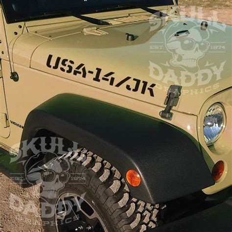 jeep wrangler military decals 1000 images about jeep vinyl stickers on pinterest