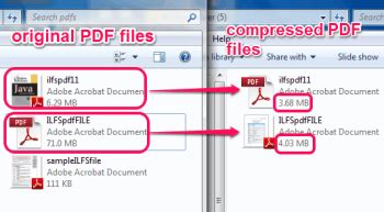 compress pdf size software file utilities archives i love free software