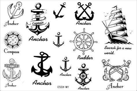 nautical tattoos designs nautical designs ideas pictures