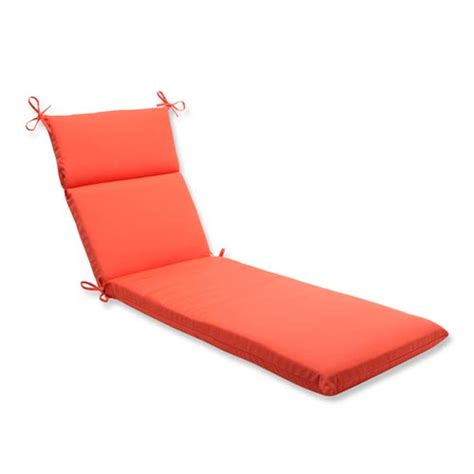 orange chaise lounge cushions canvas orange outdoor chaise lounge cushion with sunbrella