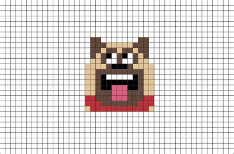 the secret life of pets craft dog house free printable the secret life of pets mel pixel art brik