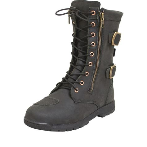 armr moto tara leather motorcycle boots new