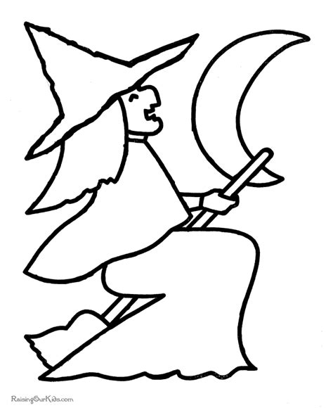 imagenes de halloween infantiles para imprimir brujas para colorear pintar e imprimir