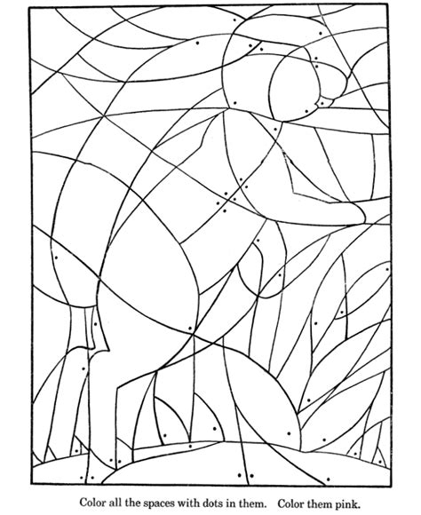 Fill In Coloring Pages picture coloring page fill in the colors to find