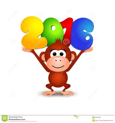 new year monkey year images symbol new year 2016 monkey postcard happy new year 2016