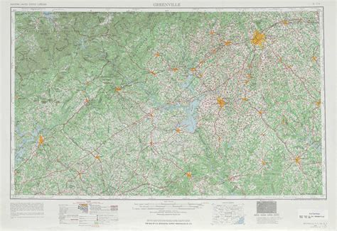 topographical map of carolina greenville topographic maps ga sc usgs topo
