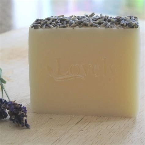 Handmade Lavender Soap - lavender handmade soap by lovely soap company