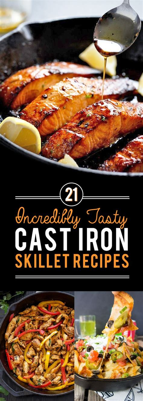 21 cast iron skillet recipes you should try skillets