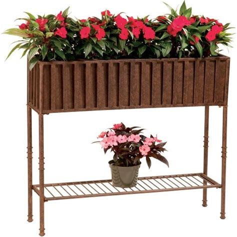 Free Standing Planter Boxes by Make Own Free Standing Window Box Forever Home