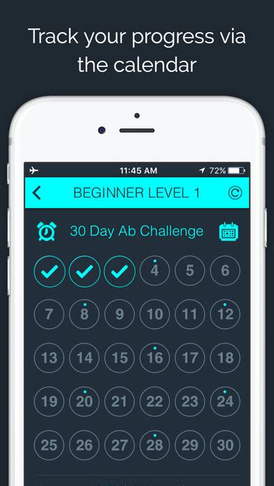 30 day ab challenge app 30 day ab challenge by 30 day fit iphone app