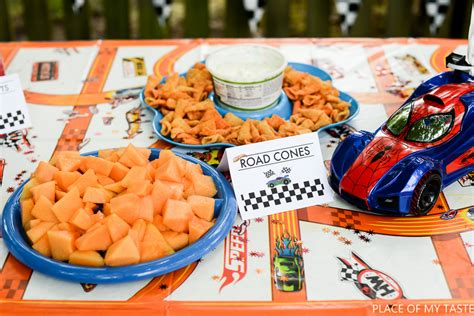 party ideas for boys wheels party printables place