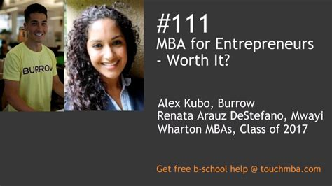 Mba Worth by Mba For Enterpreneurs Worth It