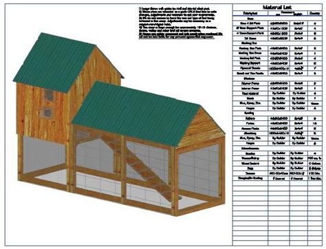 Download Chicken Coop Plans Pdf Free Plans Free Chicken House Blueprints Free