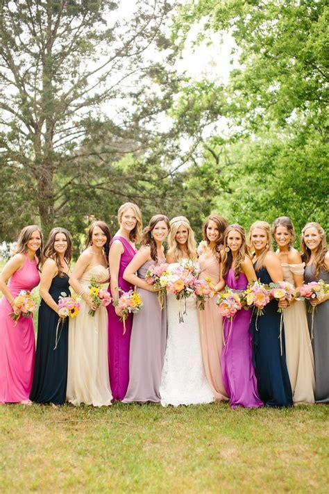 94 best Mismatched Bridesmaid Dress Ideas images on