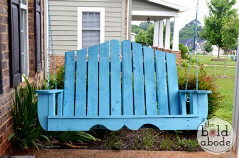 pallet porch swing pallet swing