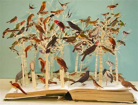 Cool Artist Su Blackwell by Four Brilliant Book Sculpture Artists