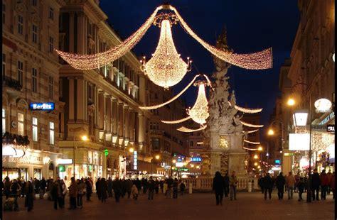 The Best Christmas Lights Around The World Vienna Lights