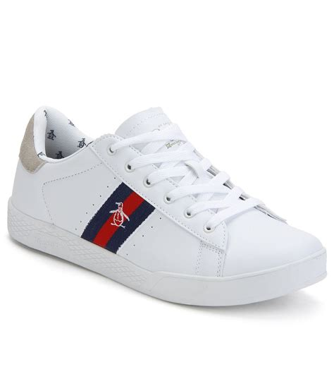 Shoes Casual Shoes White original penguin white casual shoes buy original penguin