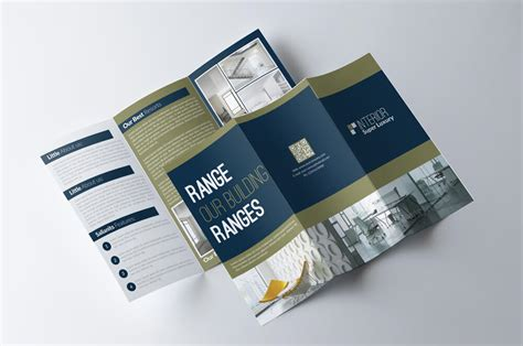 free tri fold business brochure templates best and