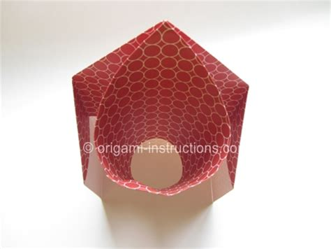 Basketball Origami - easy origami basketball hoop folding