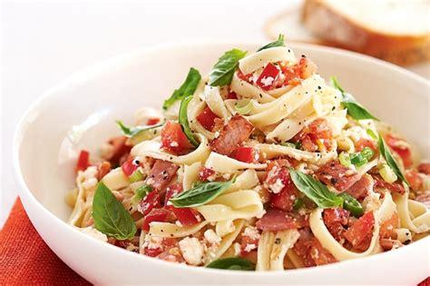 pasta dishes tomato and ricotta pasta recipe taste com au