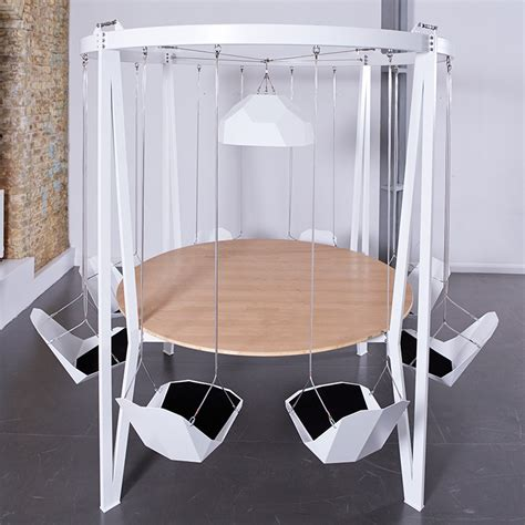 The king arthur round swing table duffy london