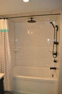 Grout Your Bathroom White Subway Tile Shower With Grey Grout Black Kingsley