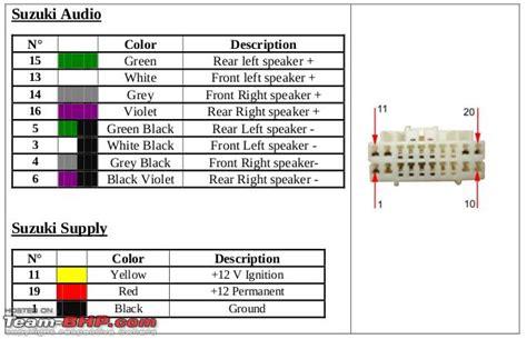 Sensor Oxygen O2 Knalpot Atas Suzuki Ertiga ertiga diy installing a 2 din stereo with bluetooth team bhp