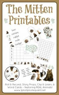 the mitten printables 1 1 1 1