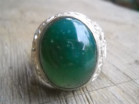 Batu Ijo Cincau Garut koleksi batu antik ag40 batu garut hijau cincau adem