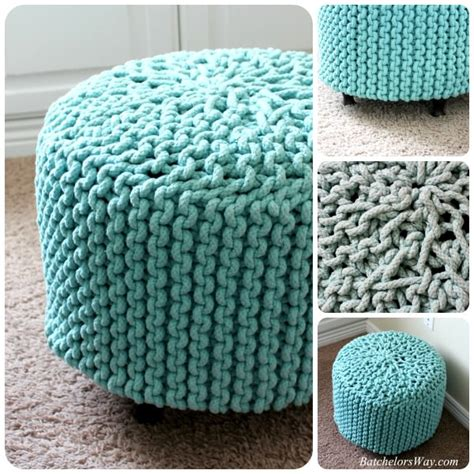 no sew pouf ottoman 10 posh diy pouf projects decorating your small space