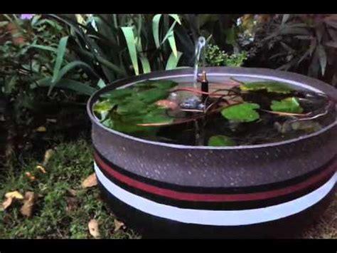 www fuentes hechas con llanta viejas fuente para acuaticas y peces en neumaticos reciclados