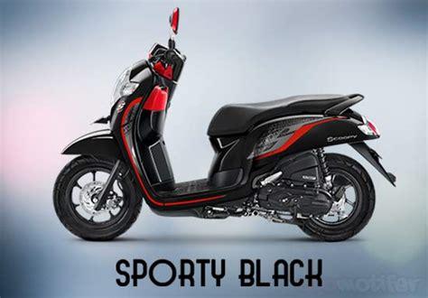 warna honda scoopy  terbaru tipe stylish sporty